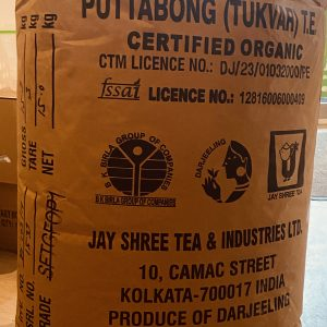 Darjeeling Puttabong first Flush in Rohverpackung
